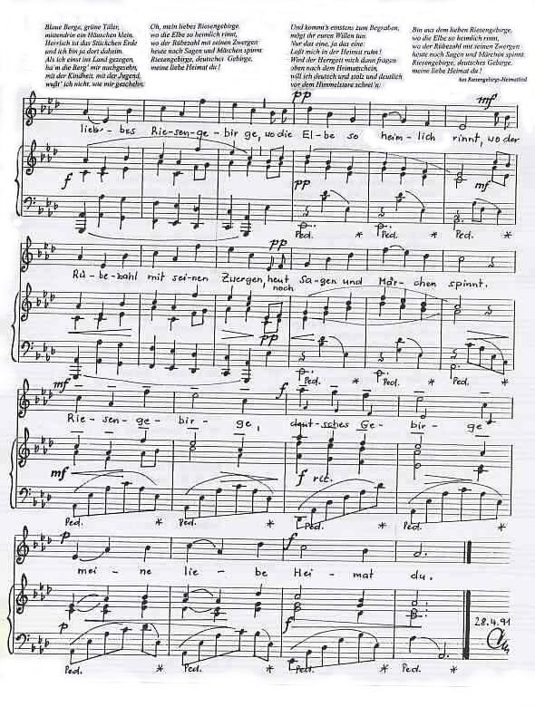 Rathay Biographien Riesengebirglers Lied