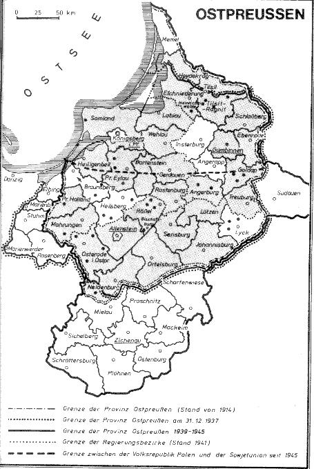 ortsnamen polnisch deutsch